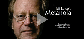 Jeff Lowe's Metanoia - Narrated by Jon Krakauer